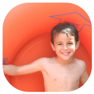 Boy with Innertube